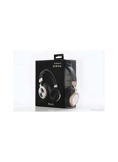 Bludfire Sy-Bt 1616 Bluetooth Kulaküstü Kulaklık Siyah Siyah